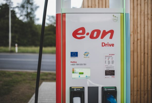 E.ON má ve svých dobíječkách elektřinu z obnovitelných zdrojů